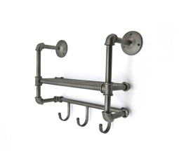 by-boo 1070 coat rack full metal jacket - small