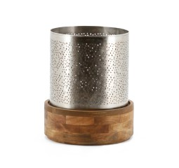 by-boo 6534 candle holder bazar 29x29 - metal