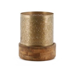 by-boo 6531 candle holder bazar 23x23 - copper