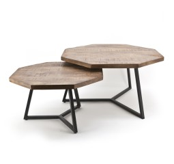 by-boo 1637 coffeetable set octagon