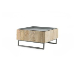 by-boo 1584 coffeetable hopper 62x62 - grey