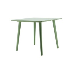 by-boo 1612 dining table subl.sq. 90x90 cm-green