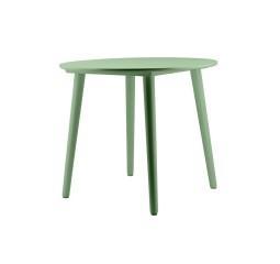 by-boo 1608 dining table subl.round 90x90 cm-green