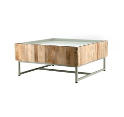 by-boo 1581 coffeetable hopper 82x82 - green