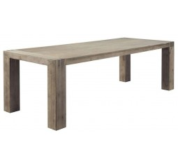 Eettafel Bassano L190xB95 acaciahout rough warm grey