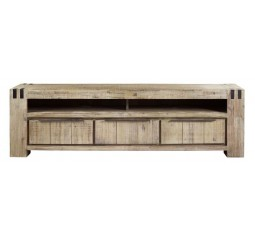TV-meubel Bassano acaciahout light grey