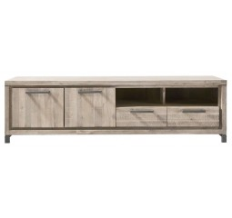 TV-meubel Accardi acaciahout ice grey