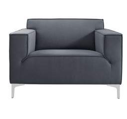 Loveseat Terzo bonell/polyether zitting grijs