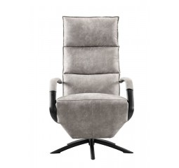 Draai/relaxfauteuil Parenzo large steel