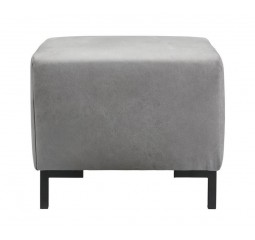 Hocker Alpa koudschuim zitting grey
