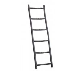 Ladder Legno teak black h180