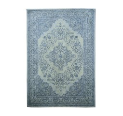 by-boo 6045 carpet medallion 170x240 cm - dark bl.