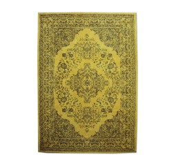 by-boo 6047 carpet medallion 170x240 cm - yellow
