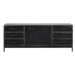Dressoir Fermano Black 204cm