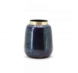 by-boo the nile vase 2 - blue