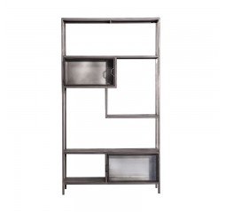 by-boo ventana collection - asym. bookcase