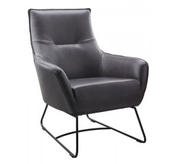 fauteuil indola antraciet