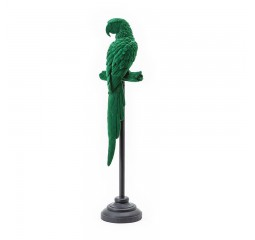 vogel ornament green