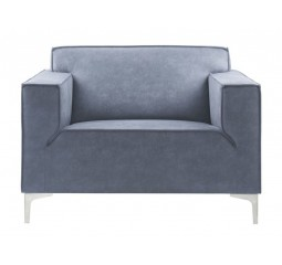 Loveseat Terzo koudschuim zitting dark blue
